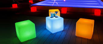 slong light led furniture say ball chair table ice bucket wine