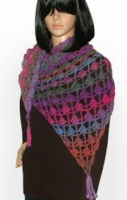 crochet wrap crochet fan lace shawl wrap scarf pattern renate kirkpatrick s