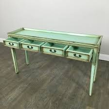 Green Console Table Mint Green Console Table