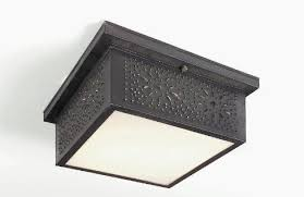 Tin Ceiling Lights Punched Tin Ceiling Lights Light Handmade Colonial Lighting