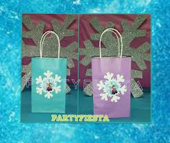 Birthday Favor Bags by Inspired Frozen Favor Bag Birthday Decorations Go