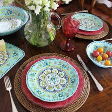 le cadeaux melamine dinnerware distinctive decor