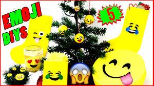 diy emoji christmas craft project ideas kidpep