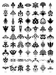 free design patterns design elements vector clipart