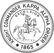 Brinkmann Commander by Kappa Alpha Order Knight Commander U0027s Accolade Kappa Alpha Order