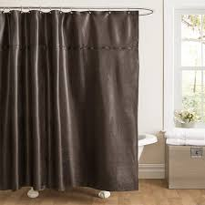 Black Sequin Shower Curtain Amazon Com Lush Decor Rylee Shower Curtain 72 By 72 Inch Black