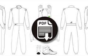 Racing Suit Template customize galuppo