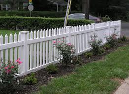 picket fences 4 u0027 vinyl picket fence chelsea weatherables