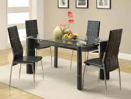 rectangular glass top dining room tables glass top dining room tables rectangular crowdbuild for