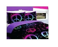 single duvet cover teenage girl teenage girl duvet covers canada peace comforter set bedding twin girls bed in a bag black purple pink sign teen bedroom
