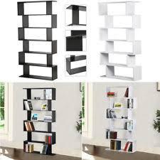 Tiered Bookshelf Bookcase Divider Ebay