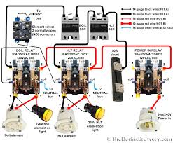 control panel wiring diagram and power homebrewtalk com beer