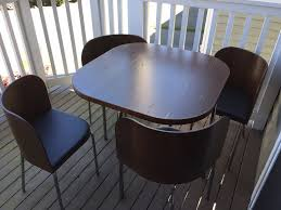 Space Saving Furniture Ikea News Space Saving Dining Table And Chairs On Ikea Fusion Table And