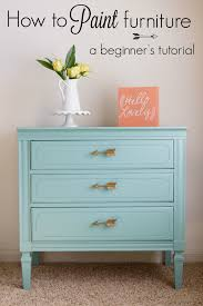How To Repaint A Nightstand How To Paint Furniture A Beginner U0027s Tutorial Practically Hippie