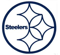 steelers logo coloring page large pittsburgh steelers logo