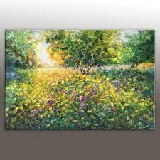 oil painting landscape abstract canvas art contemporary art large oil painting original