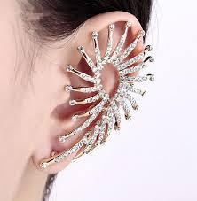 one ear earring drill big earrings in one ear orecchini vintage hot new