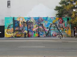 controversial bowery wall mural has been defaced