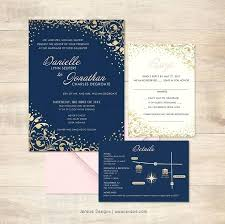 navy wedding invitations luxury wedding invitations and rsvp card sets or custom gold and
