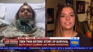 injured twin sisters recall how they survived las vegas shooting