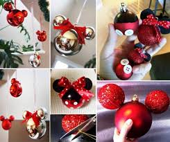diy mickey and minnie mouse ornaments diy crafts merry