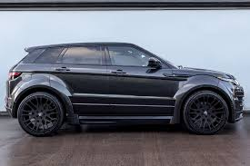matte white range rover hamann range rover evoque 5 door widebody