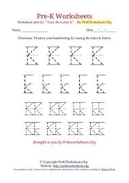 pre k tracing worksheets worksheets