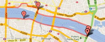 thames river running routes running paths year one at lse