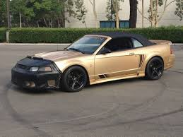 mustang 2000 saleen buy used 00 068 2000 saleen s281 sc supercharged convertible