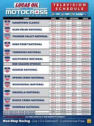 lucas oil pro motocross schedule lucas oil pro motocross 2018 lucas oil pro motocross tv schedule