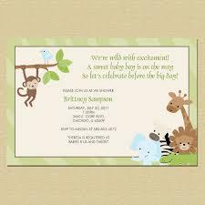 safari animal print border baby shower by inspireddesigns22