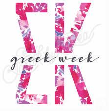 sigma kappa sk tie dye letters greek week south by sea