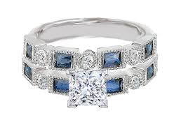 wedding bands canada engagement ring princess cut diamond engagement ring blue