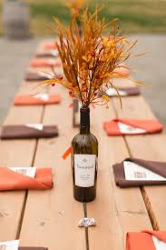 Fall Wedding Table Decor 24 Stunning Wine Bottle Centerpieces You Never Thought Could