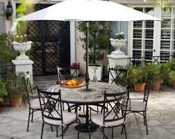 patio u0026 pergola round patio table sets patio dining sets costco