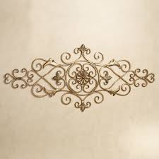 decorative metal scroll wall decor accents