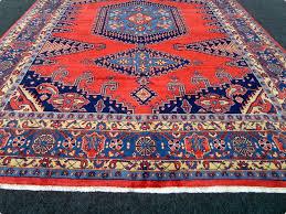 Fine Persian Rugs Fine Persian Rug Viss Red 396 X 270 Cm Handmade Oriental Carpet