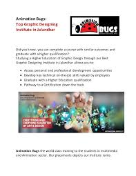 top graphic designing institute in jalandhar