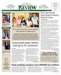 rancho santa fe review 06 30 16 by mainstreet media issuu