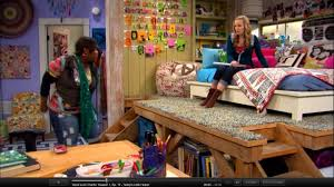 Icarly Bedroom Teddy U0027s Bed Loft On Good Luck Charlie This Is A Perfect Example