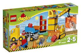 lego duplo big construction site 10813 toys