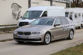 2017 bmw 5 series touring sheds camo likely to debut in geneva