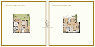 splendor 4 bedroom townhouse floor plan