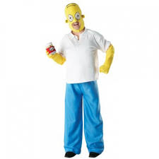 Simpsons Halloween Costumes Homer Simpson Costume Simpsons Homer Morph Costumes Uk