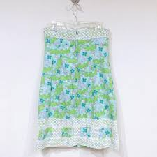 Lilly Pulitzer Baby Clothes Lilly Pulitzer White Blue Green Pink Alligator Dress 70 Off