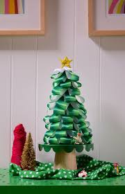 holiday diy ombre ribbon tree u2013 design sponge