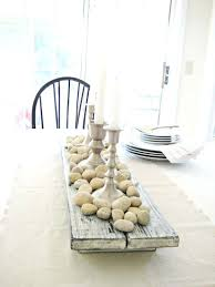 Wood Centerpieces Decor For Glass Dining Table Tag Centerpiece Dining Table