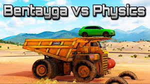 the game bentley truck bentley bentayga vs physics forza horizon 3 can we break the