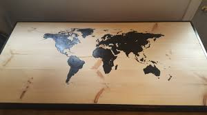 World Map Stencil World Map Table Album On Imgur