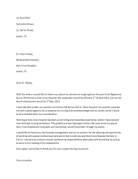 resignation letter resignation letter due to further education
